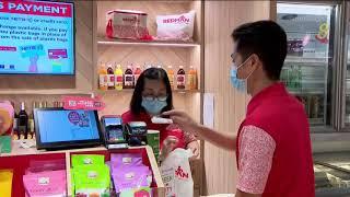 【冠状病毒19】更多支付点用SGQR码 一些店不收现金