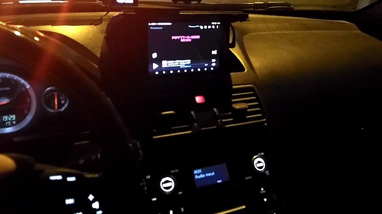 Bluetooth handsfree volvo xc90 custom