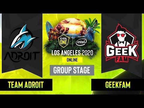 Team Adroit vs Geek Fam vod