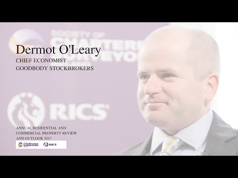 Dermot O'Leary Chief Economist Goodbody Stockbrokers