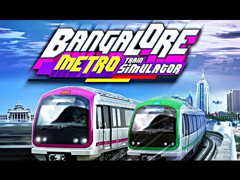 Bangalore Metro Train - First Try - Nice Train Game (But So Hard!)