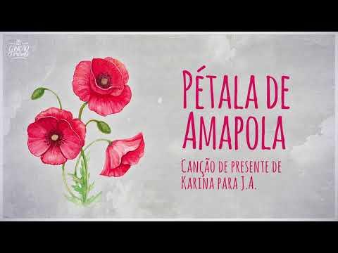 Pétala de Amapola (Canção de Presente) | Videoletra