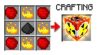 How To Craft A MODDED NUKE In Minecraft!