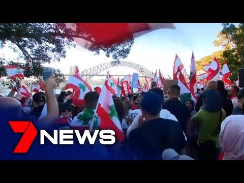 thousands-gather-in-sydney-in-support-of-lebanon-protests-|-7news