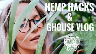 Hemp Farm Vlog - Growing Hacks and Greenhouse Dance Parties