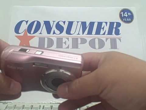 Unboxing the Sanyo VPC S880 Digital Camera Consumer Depot