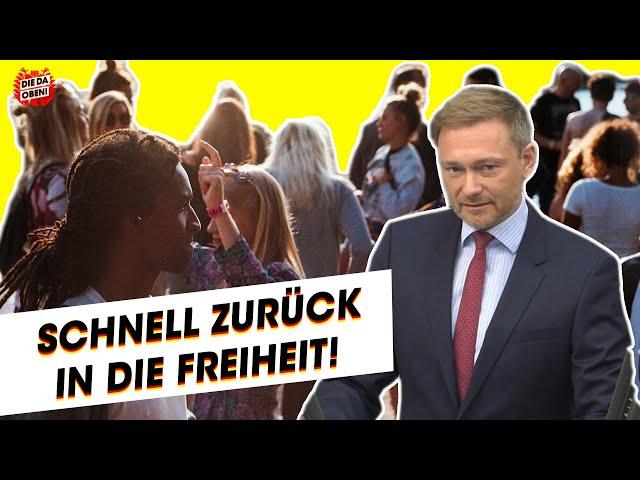 FDP-Chef Lindner: So kommen wir zurück in die Freiheit!