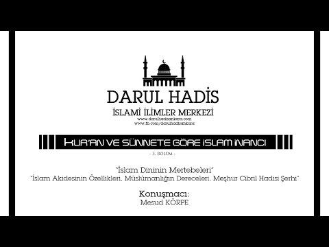 Kuran ve Sünnete Göre İslam İnancı / 3. Bölüm
