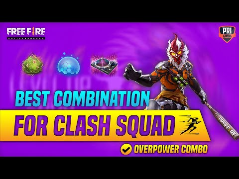 Freefire Best Character Skill Combo for Clash Squad   How Get Skywing For Free ?   Pri Gaming