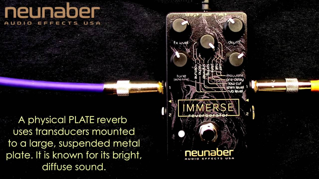 Guitar Pedal X - GPX Blog - 12 of the Best Reverb