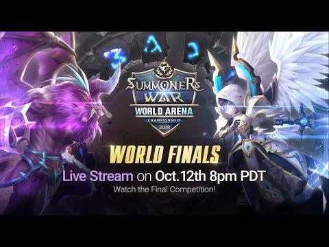 [EN] SWC2018 World Finals @Seoul |Summoners War |서머너즈워