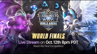 [EN] SWC2018 World Finals @Seoul |Summoners War |서머너즈워