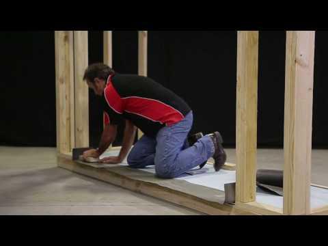 How to Install an Aluminium Sliding Door into Clad/Lightweight Construction