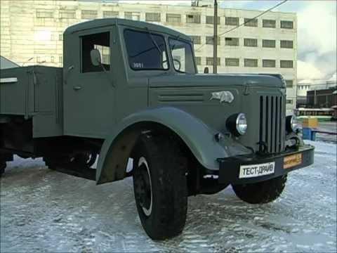 Тест-драйв МАЗ-200