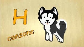Alfabeto italiano per bambini canzone - La lettera H canzone / Impara canzoni l'italiano per bambini