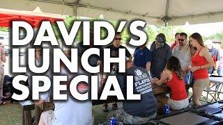 REC TEC GRILLS • David Jody Lunch Special
