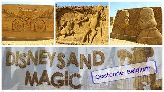 Disney Sand Magic | Oostende, Belgium