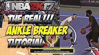 NBA 2K17 Real Way To Get Ankle Breaker Badge Confirmed Easiest Way To Get Ankle Breaker Badge