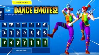 *NEW* PEEKABOO SKIN! With DANCE EMOTES SHOWCASE! Fortnite Battle Royale