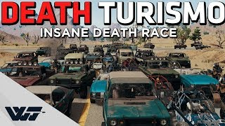DEATH TURISMO - A PUBG DEATH RACE like you've never seen before!