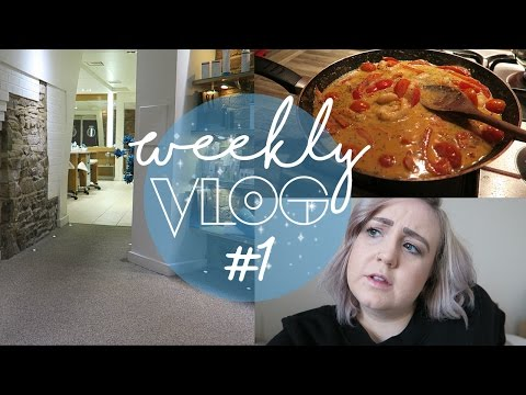 Weekly Vlog #1 | Solo DIY & Pedicures | That's What She Vlogs