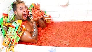 EXTREMELY HOT CHEETOS AND TAKIS FUEGO CHALLENGE!