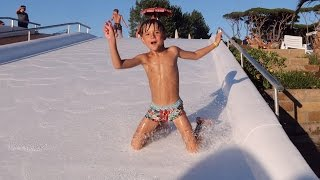 Fun Water Slides - Pool Play - Family Holidays