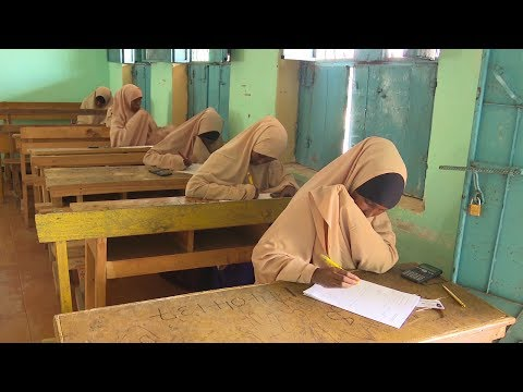 Unified national examinations for secondary schools comes to a close in Somalia