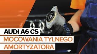 Obsługa Audi A5 8ta - wideo poradnik
