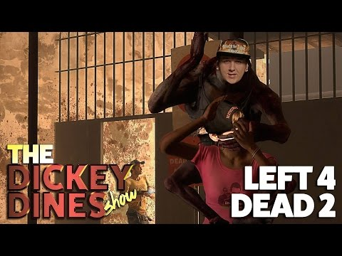 Left 4 Dead 2 - RIPPING LIZARDS IN HALF!!
