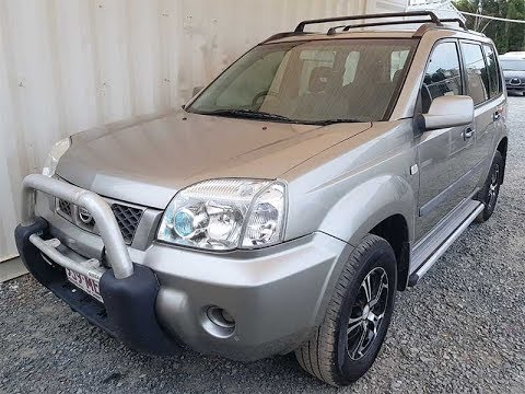 sold 4x4 suv nissan x trail 2005 manual review youtube. Black Bedroom Furniture Sets. Home Design Ideas