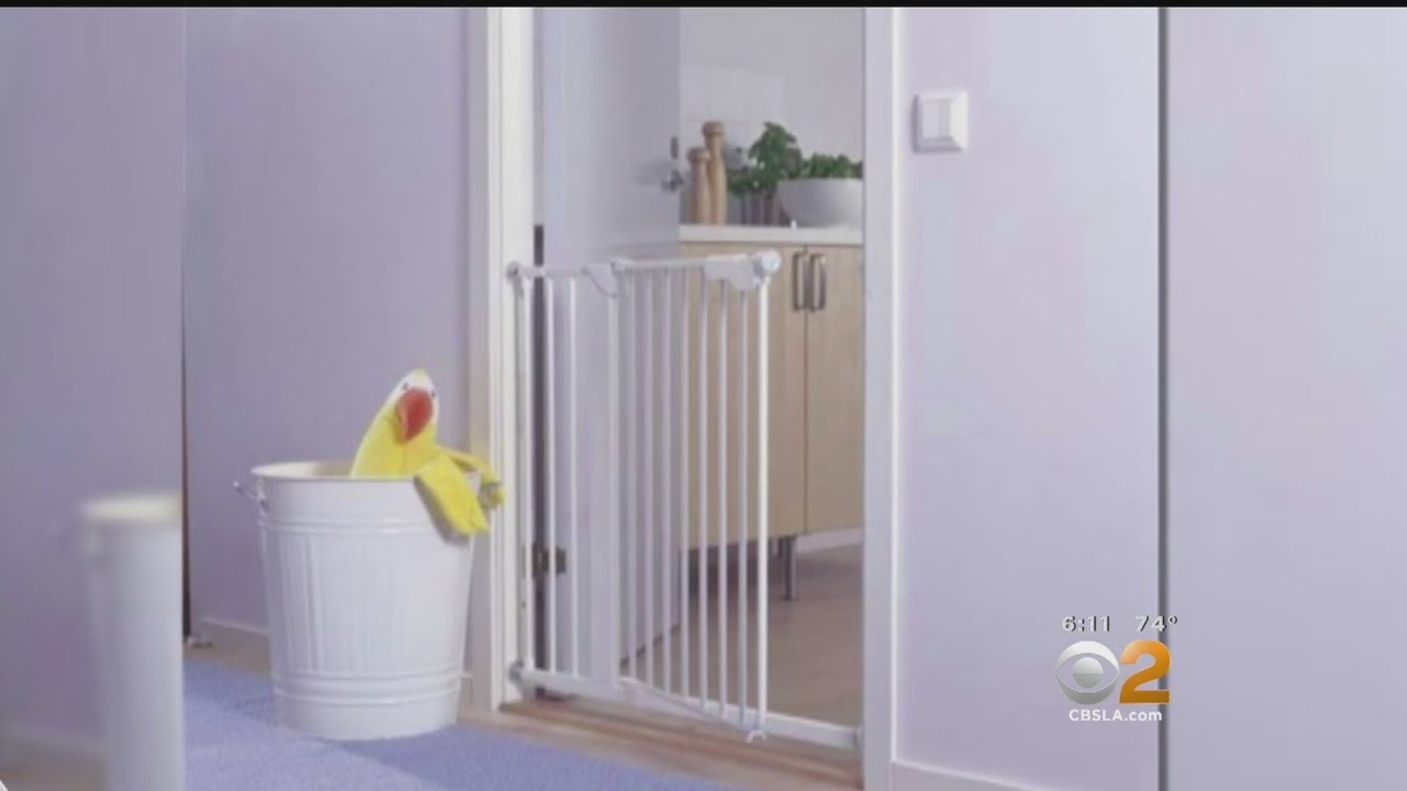 Ikea Recalls 80 000 Baby Gates Youtube