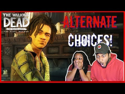 HE CAN TALK!! | The Walking Dead The Final Season Episode 3 ALTERNATE CHOICES!!