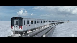 """Roblox: Rails Unlimited, Driving the R142A """"Brooklyn Express"""""""