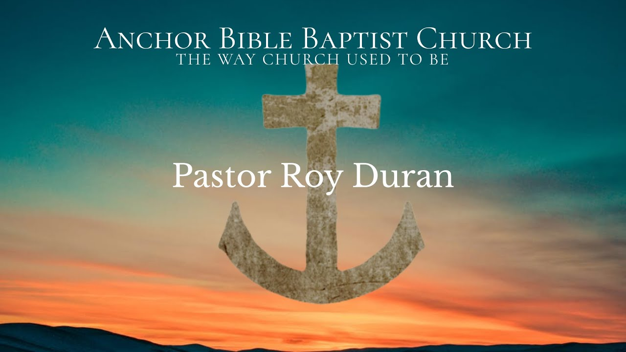 Pastor Roy Ruran