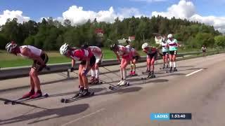 Alliansloppet 2018 - World classic tour - Last 6 km of men's and women's race