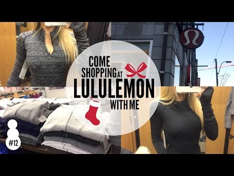 Come Shopping With Me At Lululemon | Vlogmas #12 | Keltie O'Connor