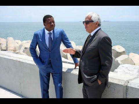 Togolese President visits Eko Atlantic City Lagos Nigeria