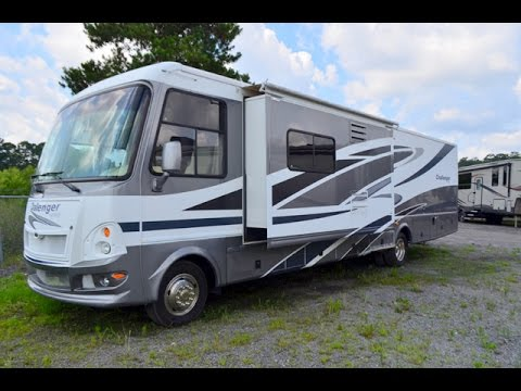 80A01412 Used 2008 Damon Challenger 378 Class A Motor Home For Sale At Dick Gore's RV World