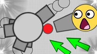 STALKER VS FALLEN BOOSTER ( Diep.io Mobile Funny Trolling ) FT WORMATE.IO SMALL WORM VS BIGGESTS
