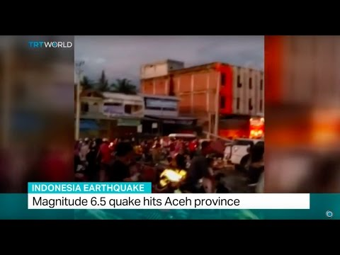 Indonesia Earthquake: Magnitude 6.5 quake hits Aceh province