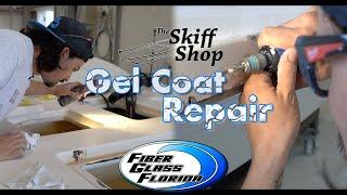 Gelcoat Repair : How to repair cracks and chips in damaged gelcoat