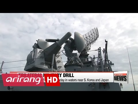 Thumbnail: S. Korea, Japan, U.S. conduct first missile-warning exercise of 2017