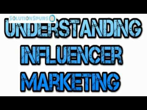 Understanding Influencer Marketing Video Tutorial