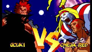 Marvel Super Heroes VS. Street Fighter (Sega Saturn) Arcade as Shadow/Akuma