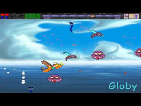 Globy Atarata Mini game