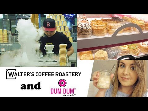 BREAKING BAD THEMED COFFEE SHOP AND DUM DUM DONUTS! | DUBAI