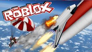 Roblox | ESPAÇO SHUTTLE CRASH-Rocket takeoff Roblox! (Roblox Space Adventure)