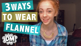3 Ways to Wear Flannel! | Alyssa Vlogs