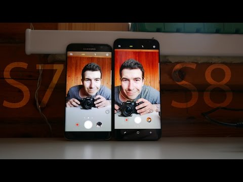 Сравнение Камер Galaxy S8 и Galaxy S7